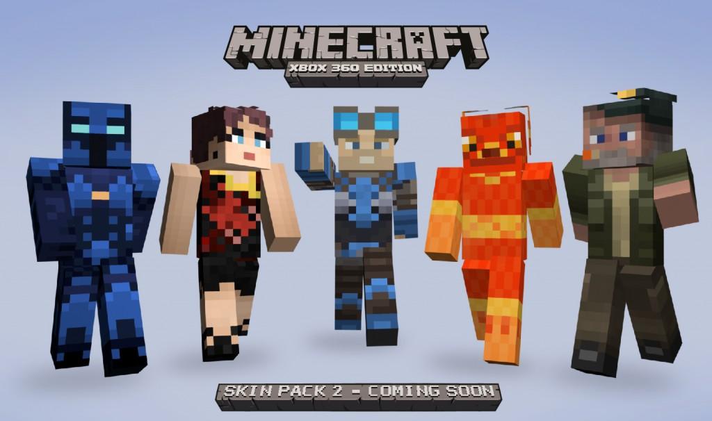 More Minecraft Skins Unveiled - Minecraft skins fur xbox 360