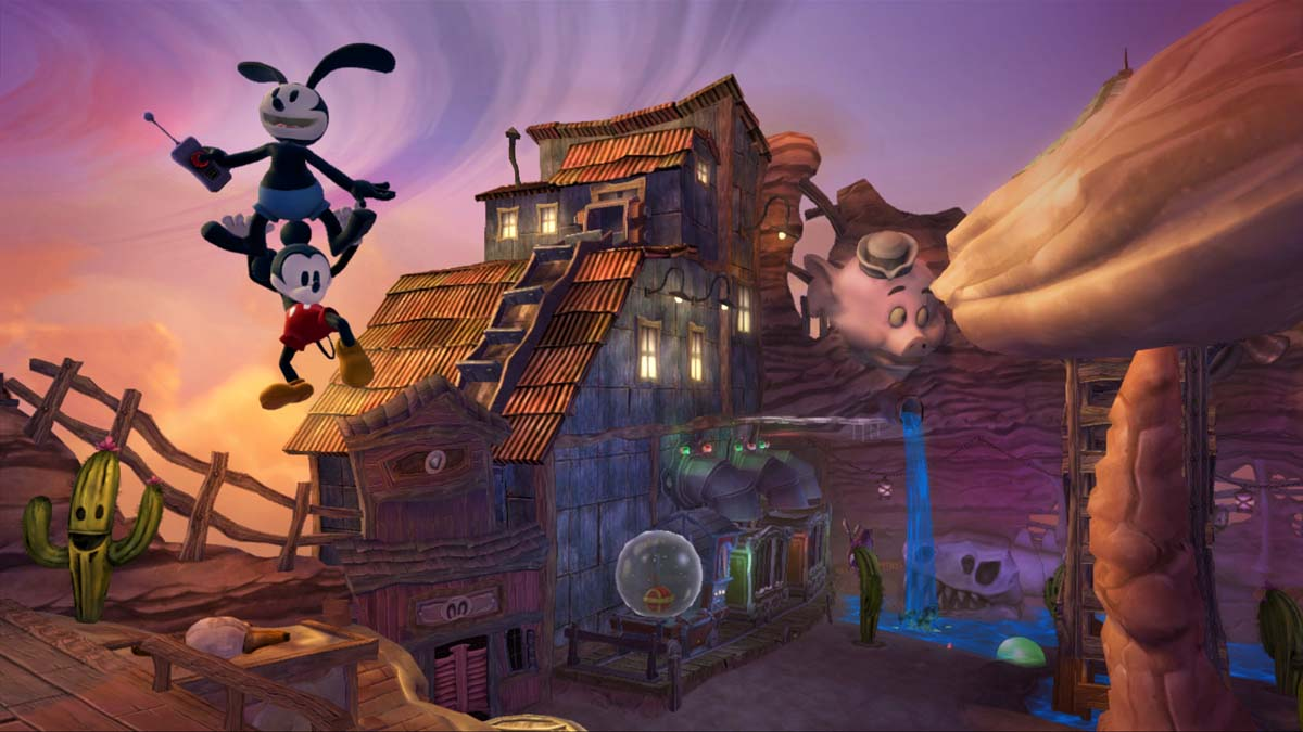 Epic mickey 3d model download