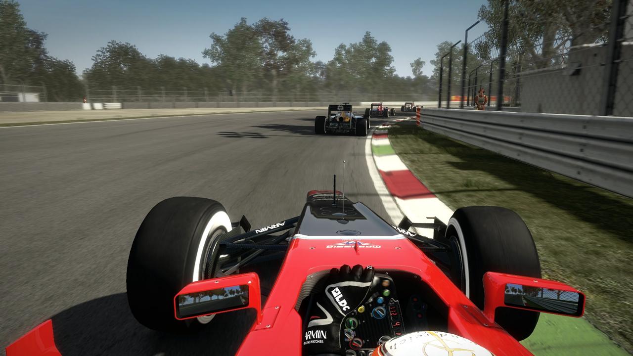 Formel 1 simulator online game