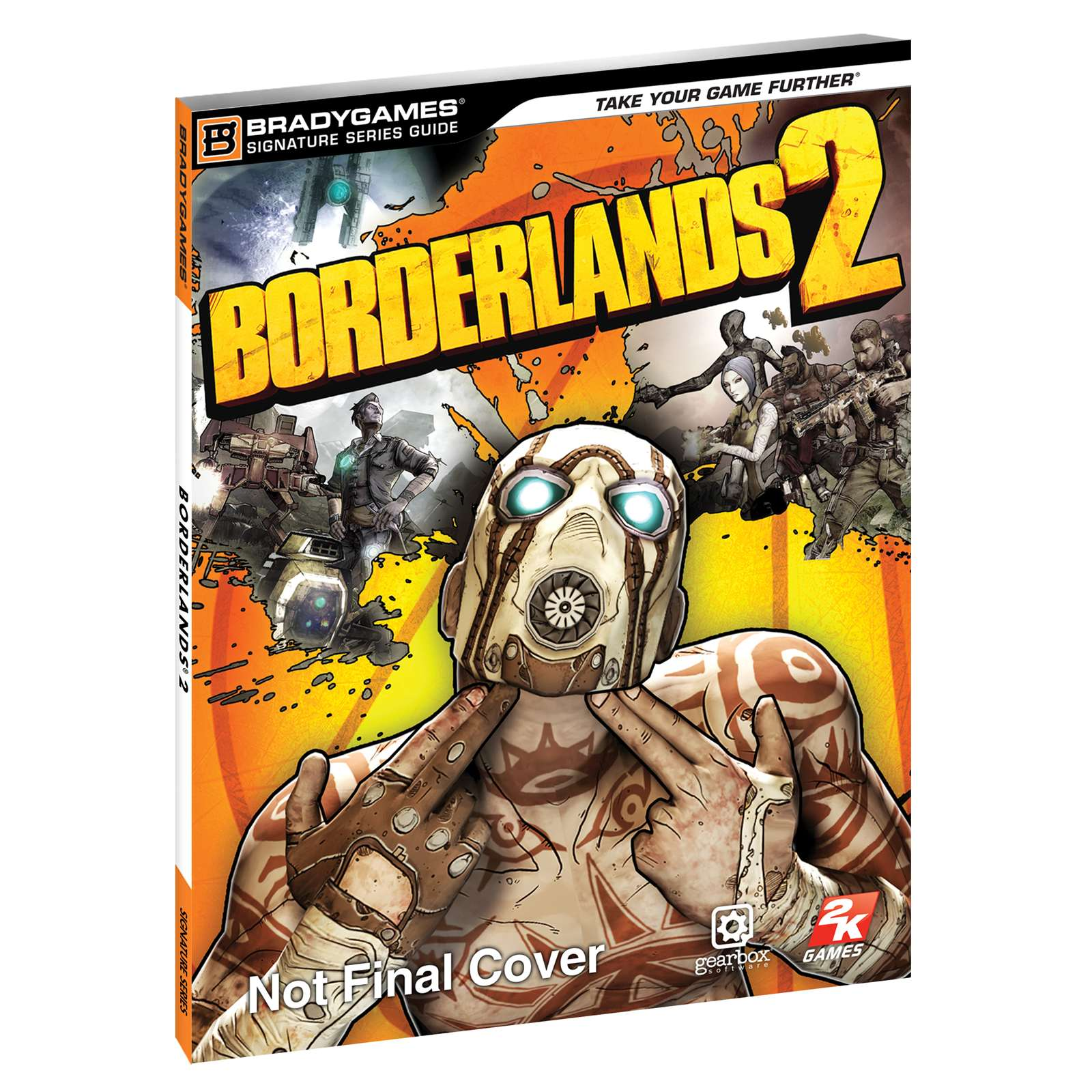Borderlands 2 strategy guide limited edition hardback like-new.