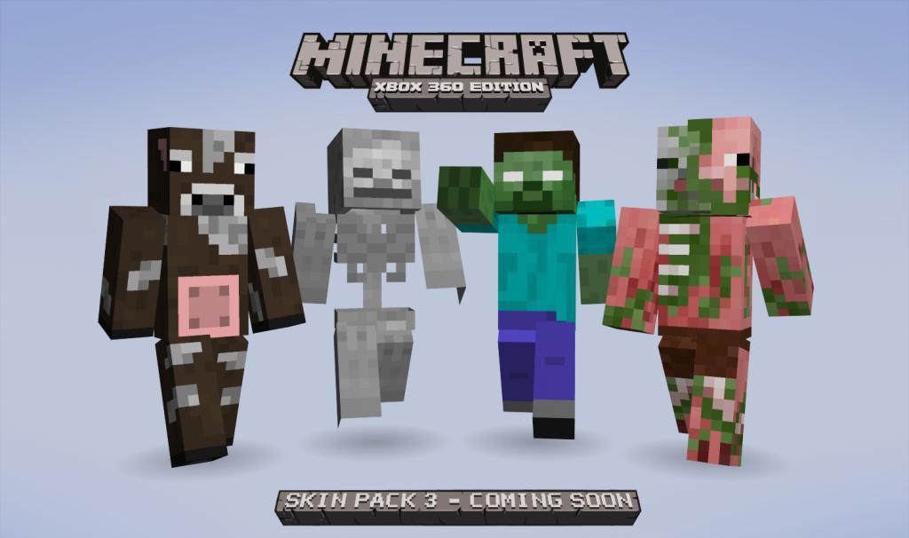 Skin Pack DLC Announced For Minecraft - Skins para minecraft de wwe
