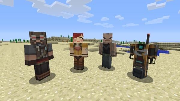 New Minecraft Skins Go Vault Hunting - Skins para minecraft pc demo