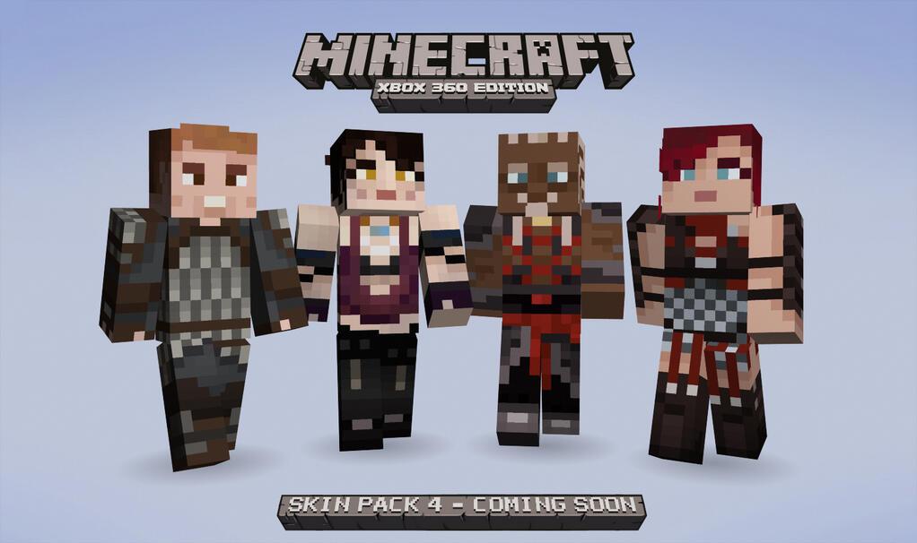 Even More Skins Coming To Minecraft - Skins para minecraft pe de wwe