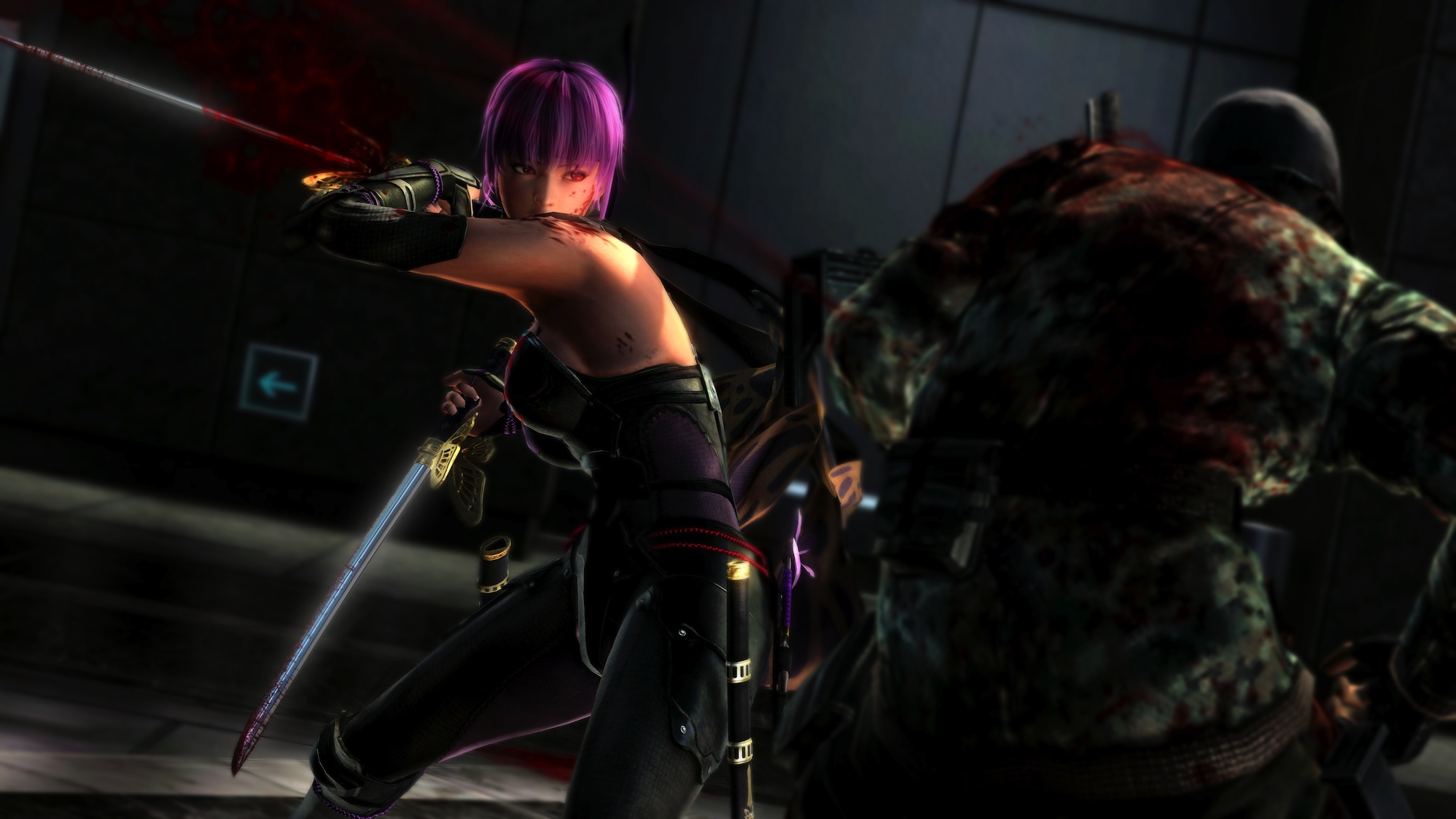 Ninja Gaiden 3 Razor S Edge New Content Screens