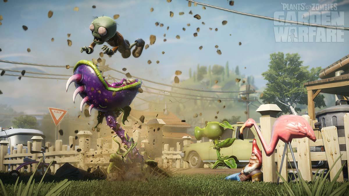 Popcap Announce Plants Vs Zombies Garden Warfare