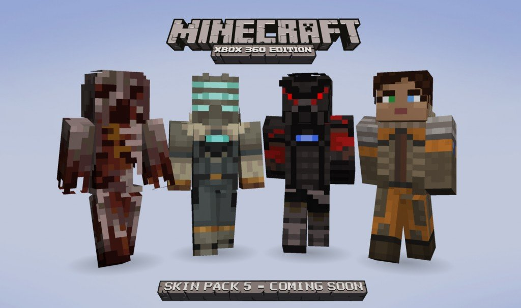 Minecraft Skin Pack 5 Coming Soon