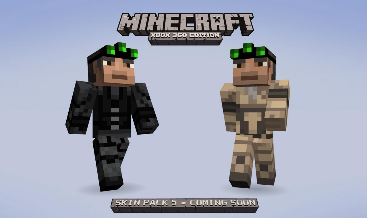 Minecraft Releases Skin Pack - Camo skins fur minecraft