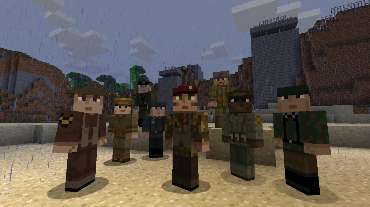 Minecraft Releases Skin Pack 12