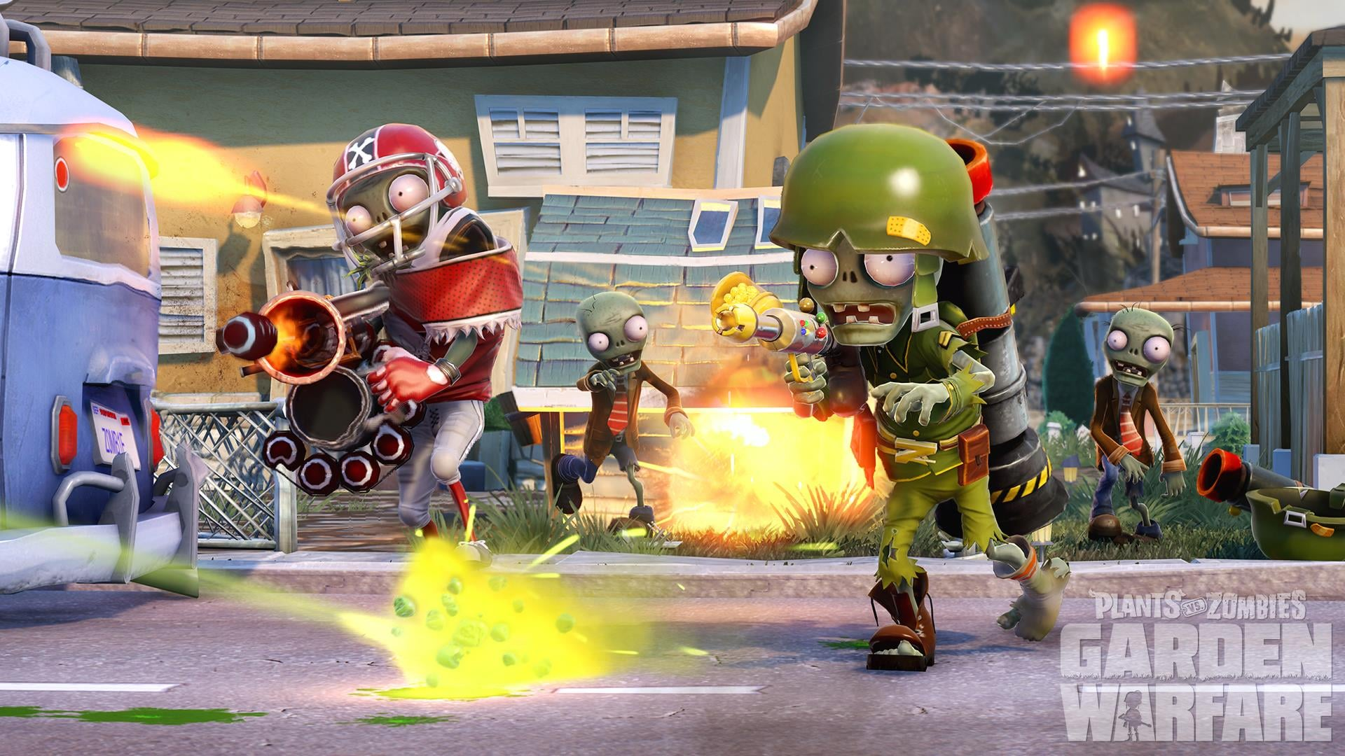 Plants Vs. Zombies: Garden Warfare Will Debut On The Xbox One And The Xbox  360 In Spring 2014.