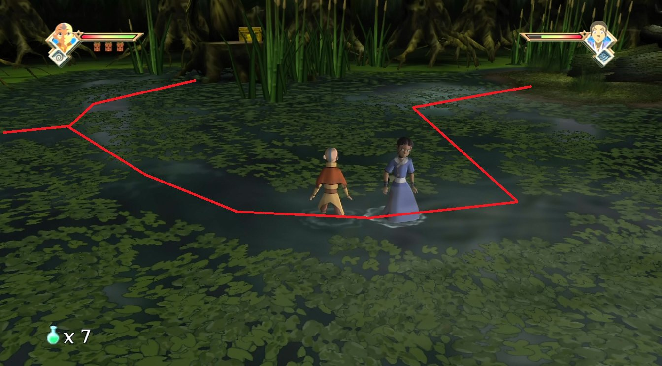 Avatar the last airbender the burning earth walkthrough page 3 as you can see from the picture this time its possible to detour from the main path to reach the gold chest up a tree stump buycottarizona