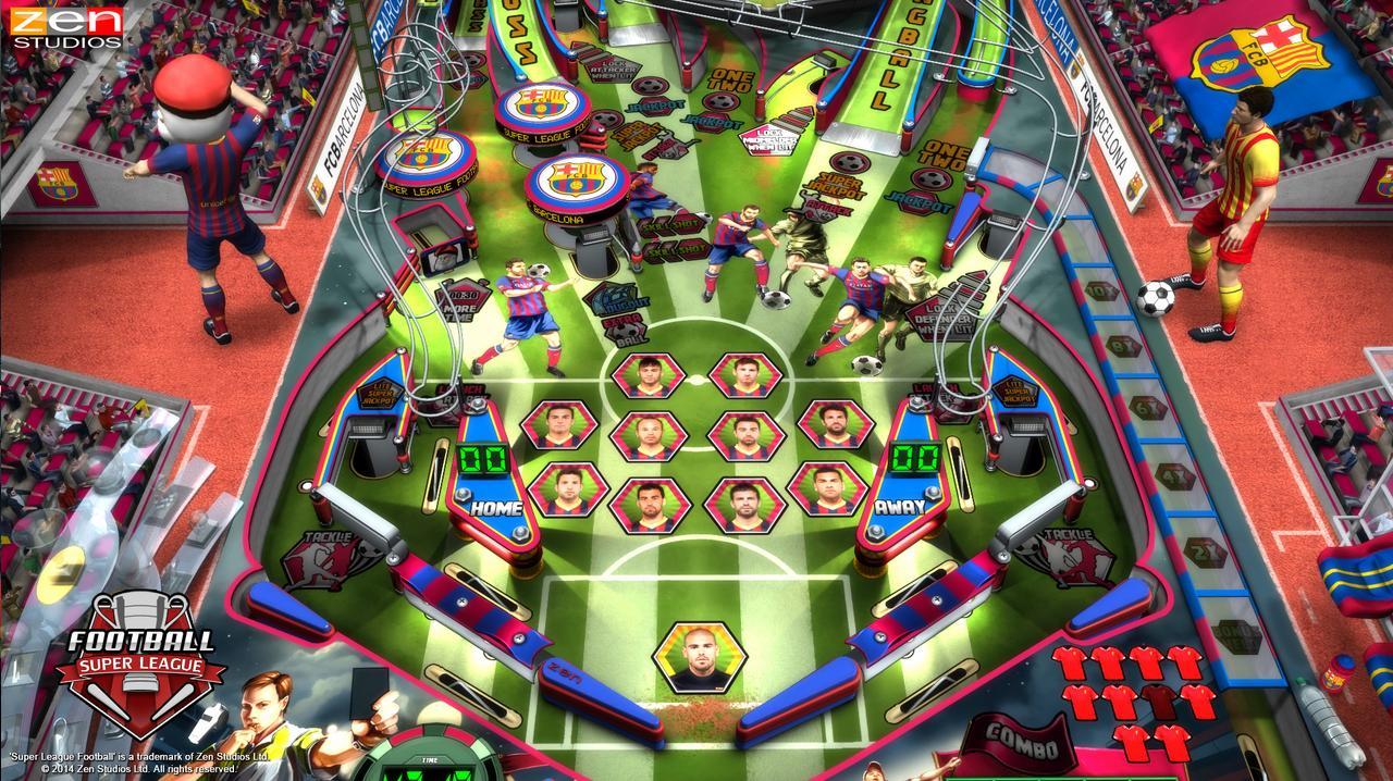 Super League Football Joins Pinball FX2 DLC Roster