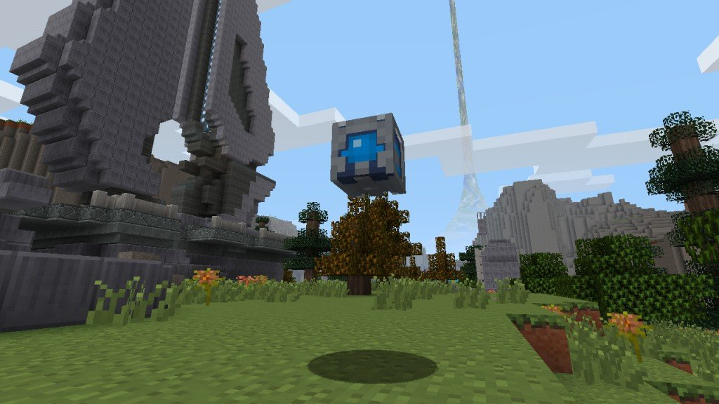 New Minecraft Halo Screens And Details - Skins para minecraft pe halo
