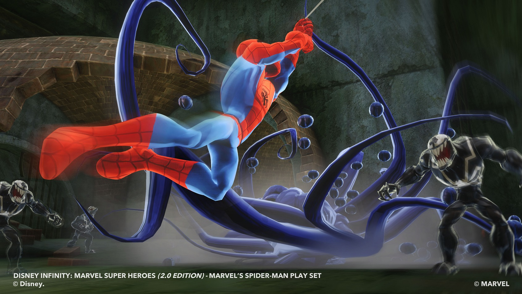 disney infinity 20 reveals spiderman play set