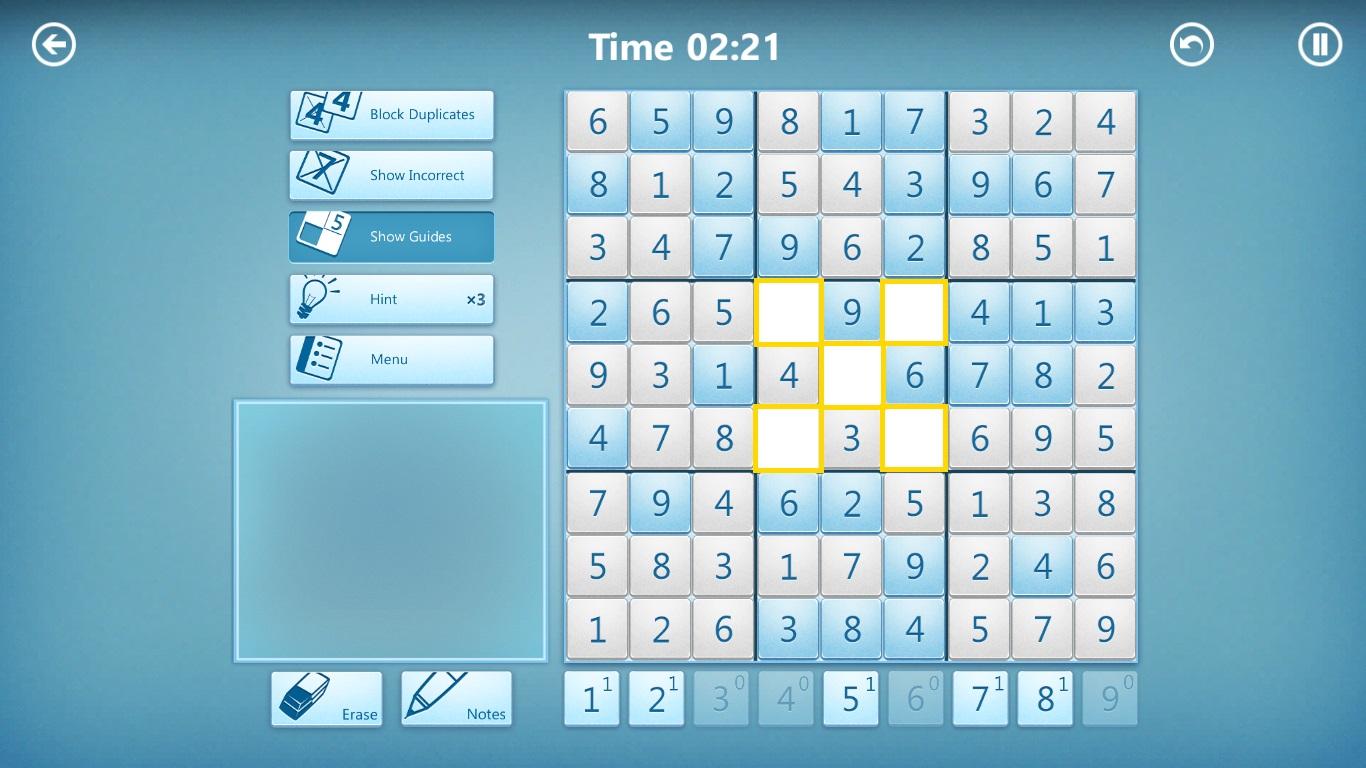 x marks the spot achievement in microsoft sudoku jp win 8