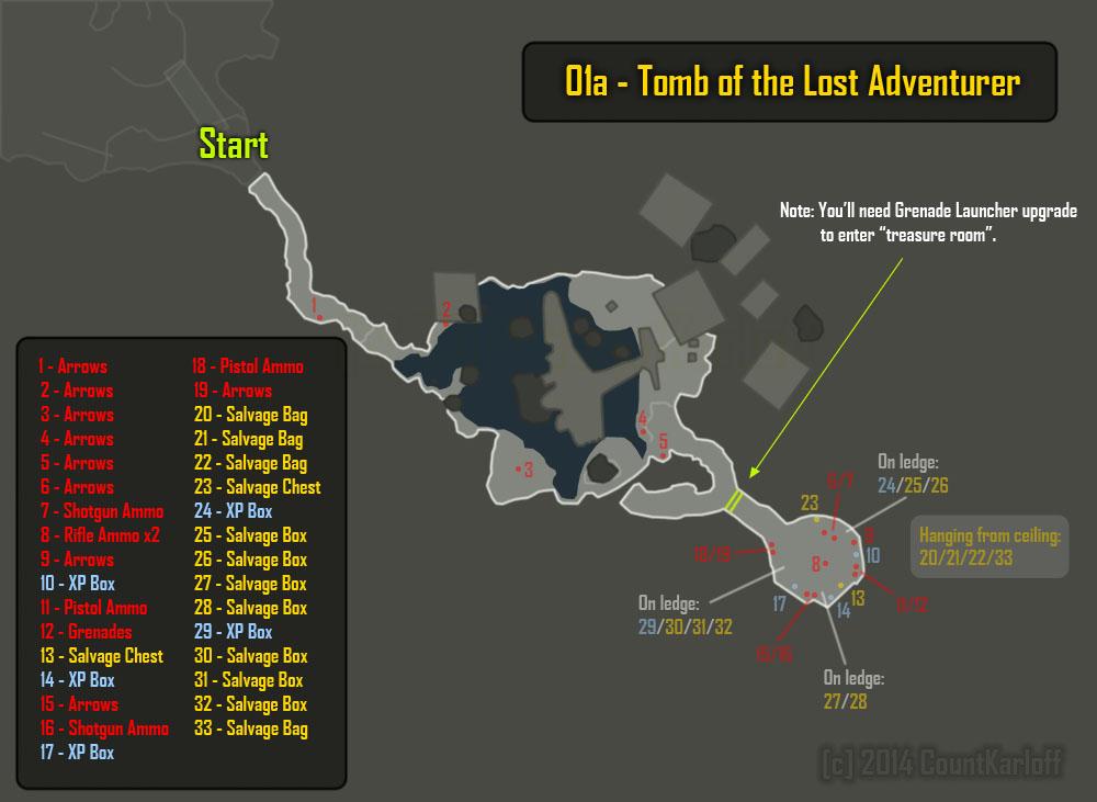 Tomb Raider Walkthrough - Page 23