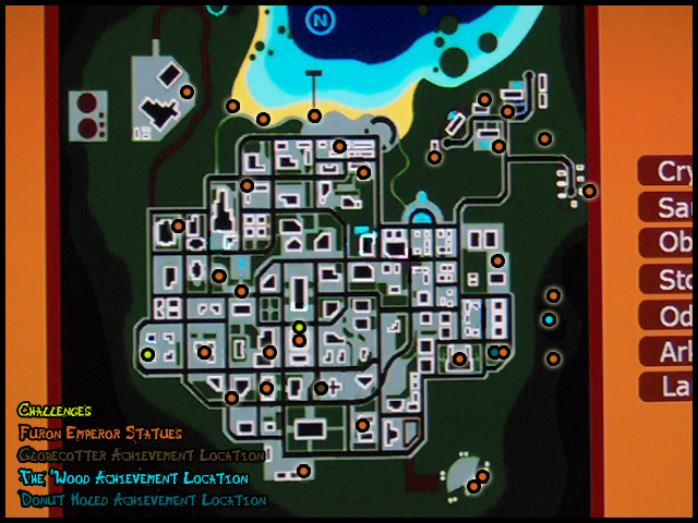 destroy all humans probe location map