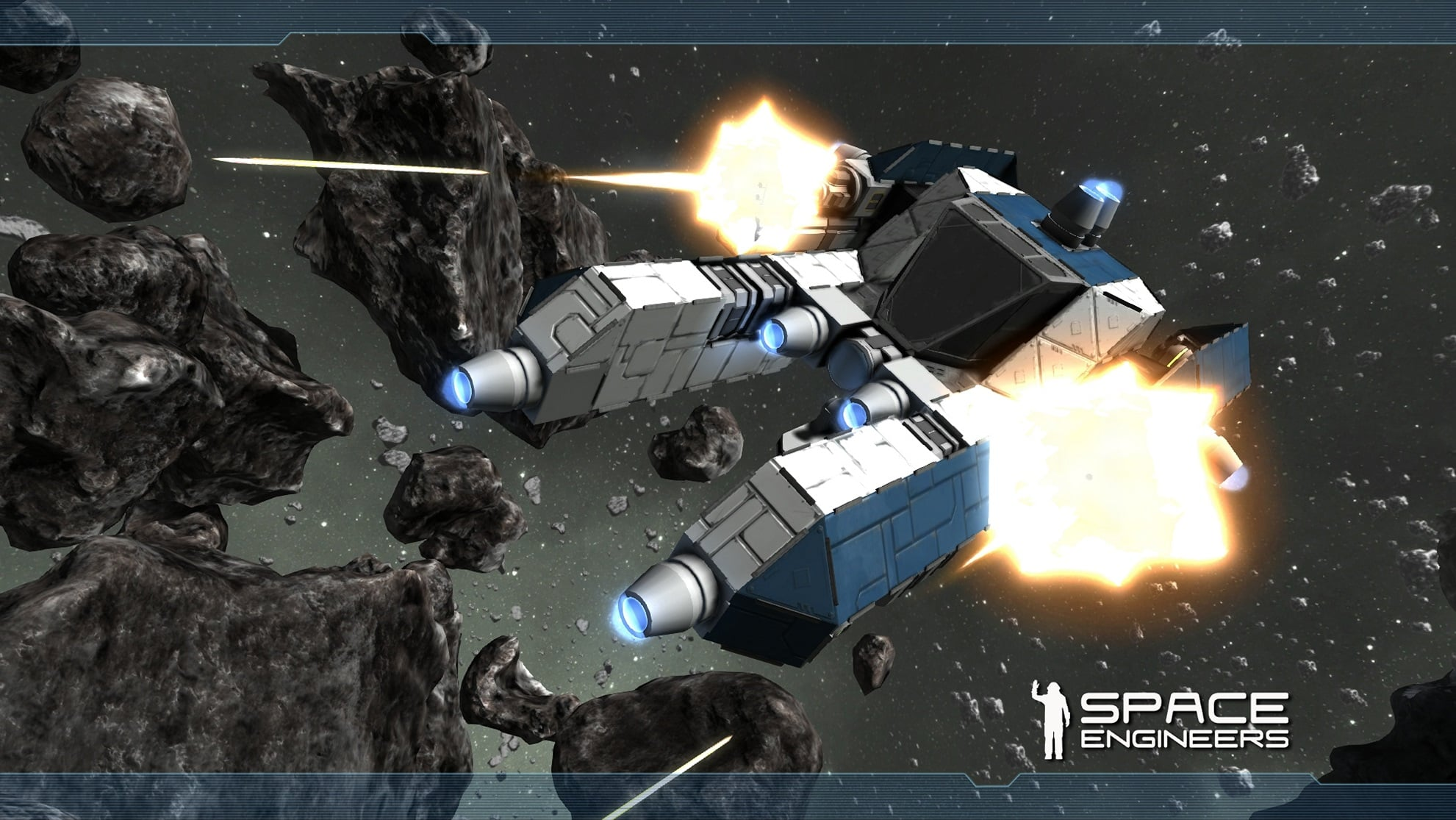 Space Engineers Announced For Xbox One