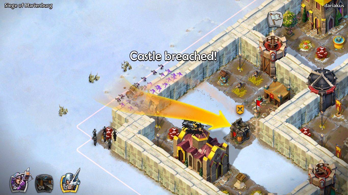 Castle siege age of empires how to beat historical challenge - Screenshot 2