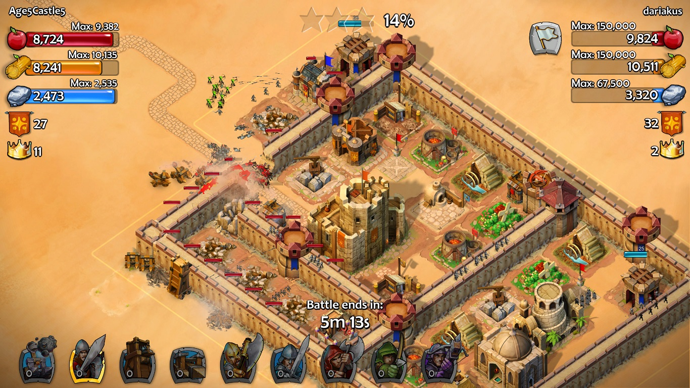 Castle siege age of empires how to beat historical challenge - Using Touch Screen Controls Players Will Be Able To Build An Empire That They Must Keep Safe Fortify Collect Resources And Train An Army If You Want To