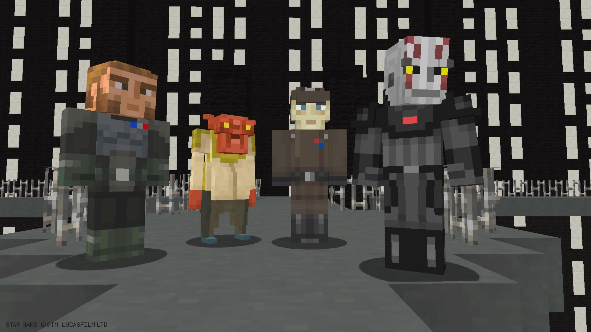 Игра «Звёздные Войны Майнкрафт»