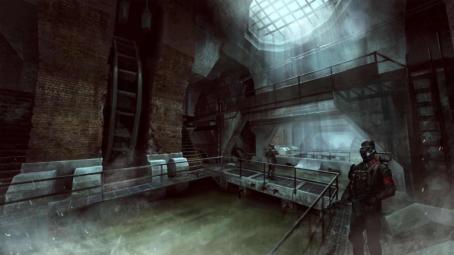 Wolfenstein The Old Blood New Artwork