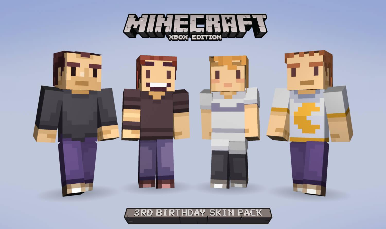Xbox One Minecraft Skins - More information
