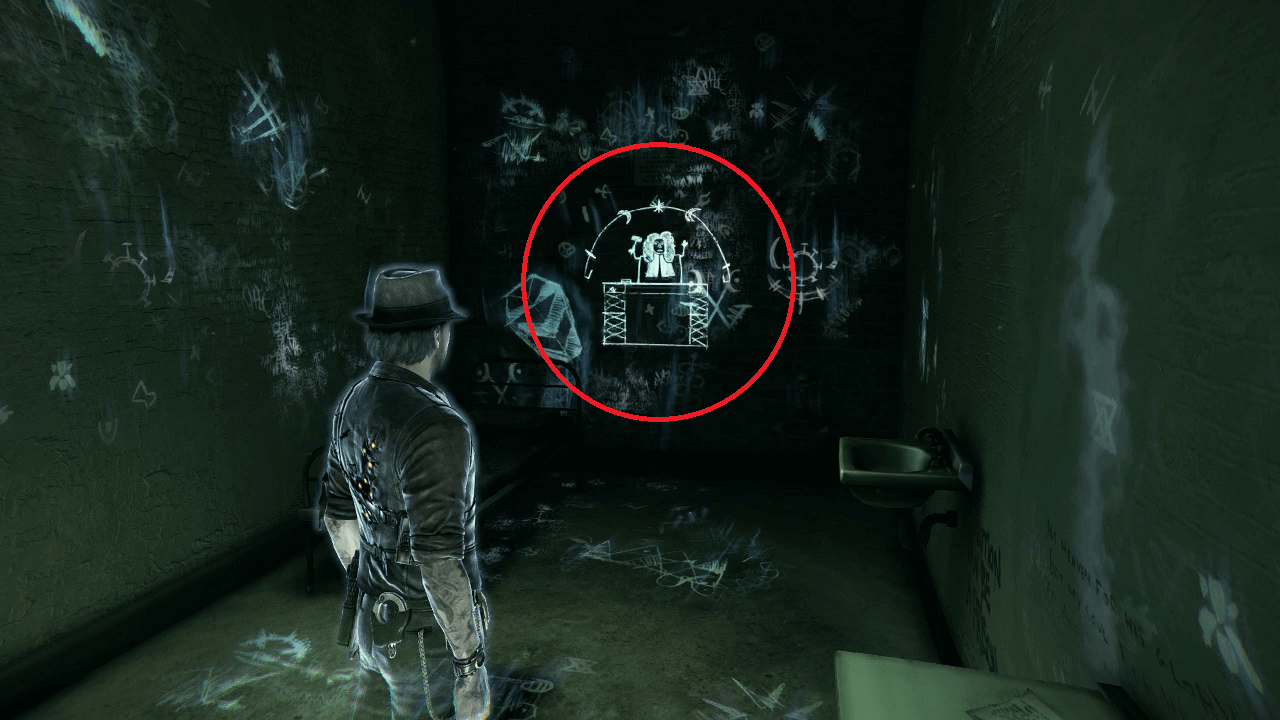 Walk back out into the hall and youu0027ll be on the other side of the demon portal. Head through the door at the end of the hall. Youu0027ll see a collectible in ... & Murdered: Soul Suspect (Xbox 360) Walkthrough - Page 5