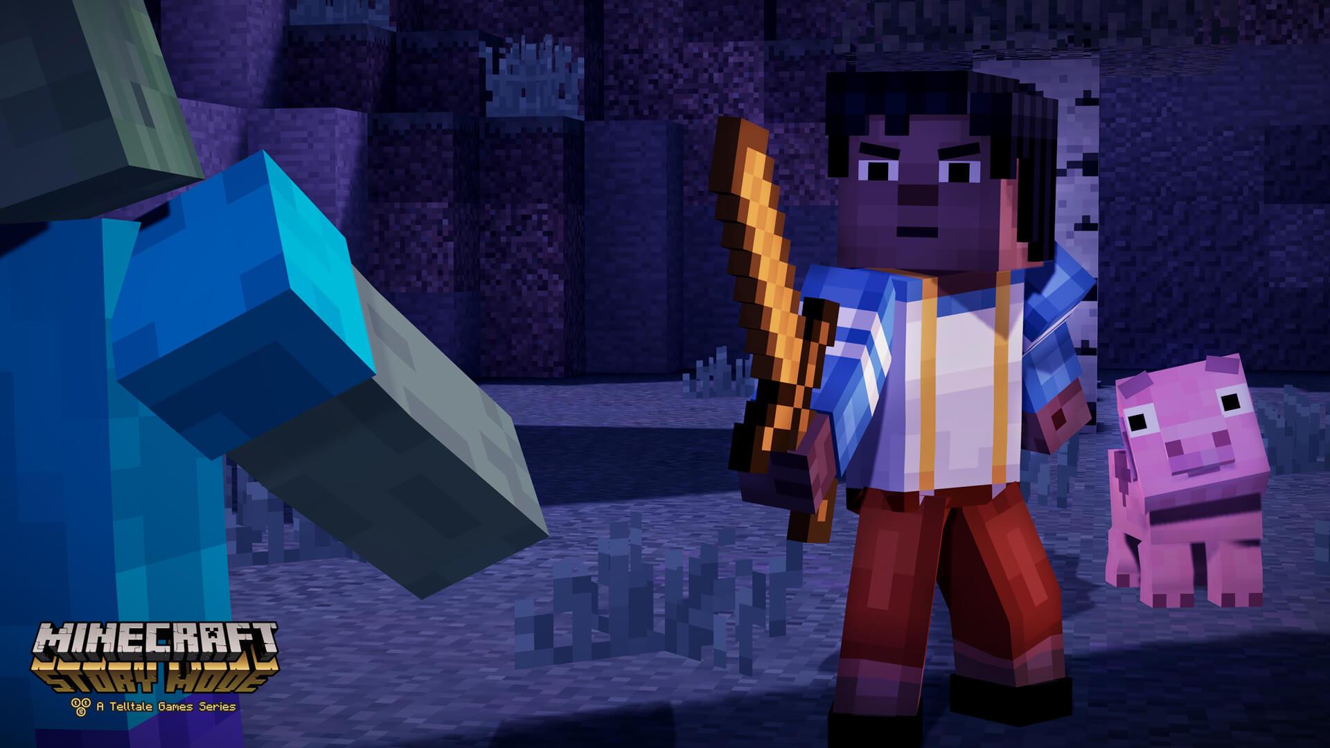 Minecraft: Story Mode - Episode 3 Скачать игру через торрент