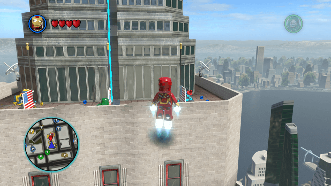 marvel lego empire state building walkthrough