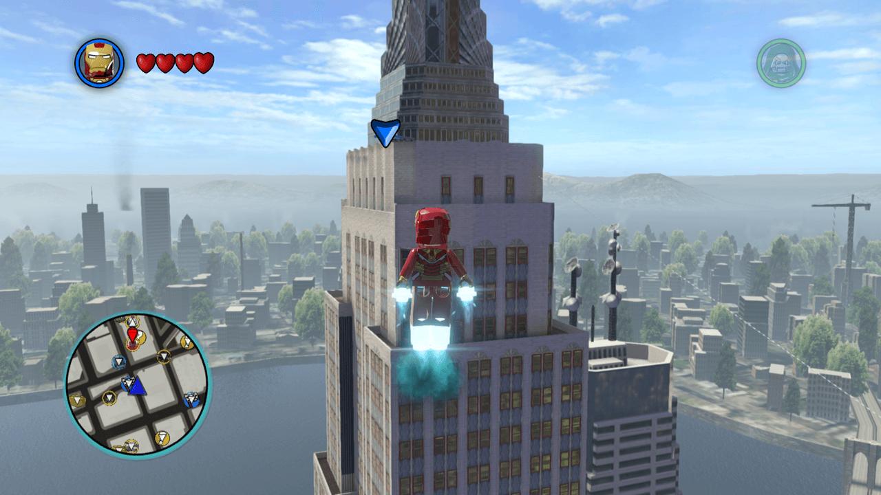 LEGO Marvel Super Heroes (Xbox 360) Walkthrough - Page 10