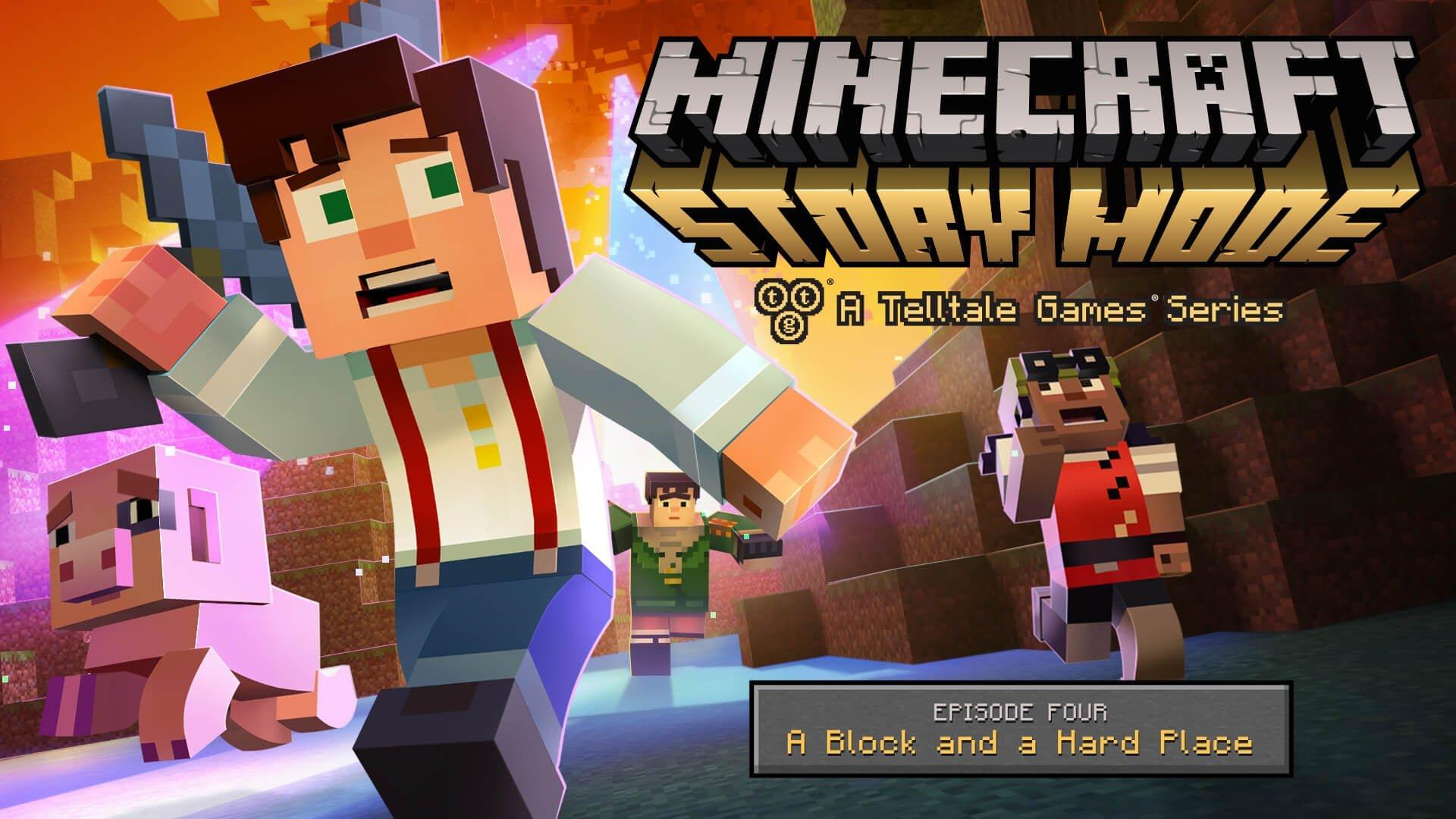 Minecraft: Story Mode скачать бесплатно торрент