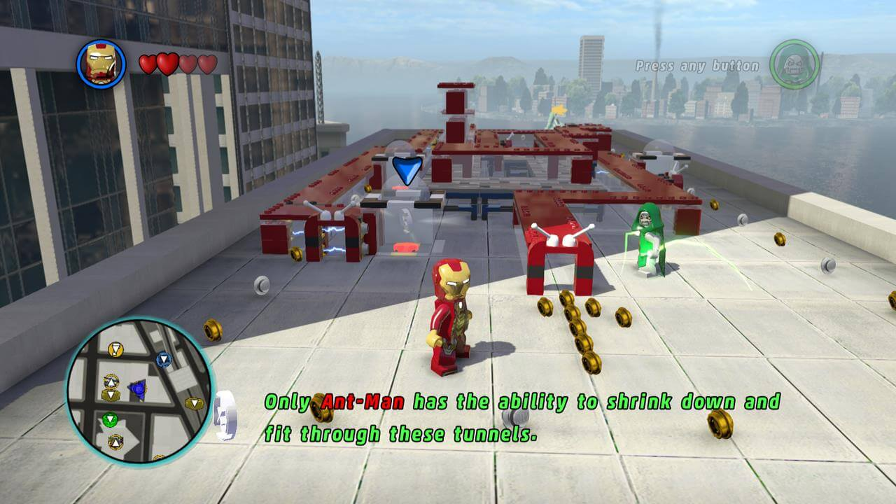 LEGO Marvel Super Heroes (Xbox 360) Walkthrough - Page 10