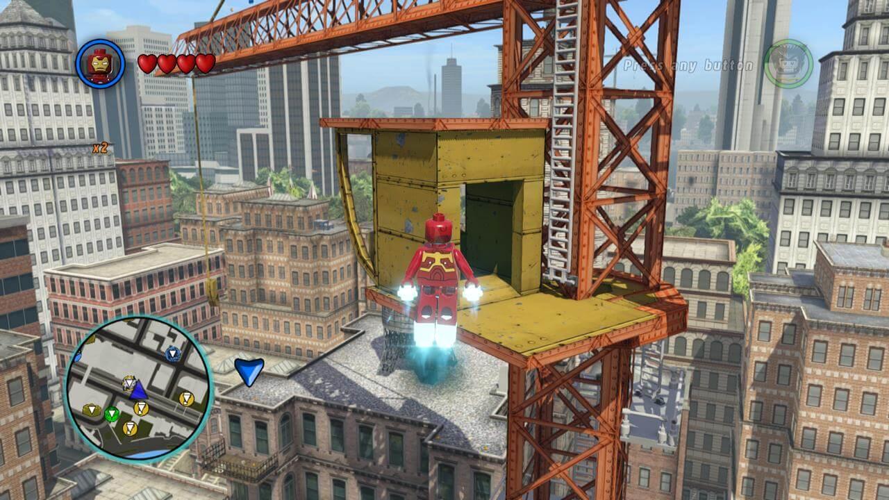 LEGO Marvel Super Heroes (Xbox 360) Walkthrough - Page 8