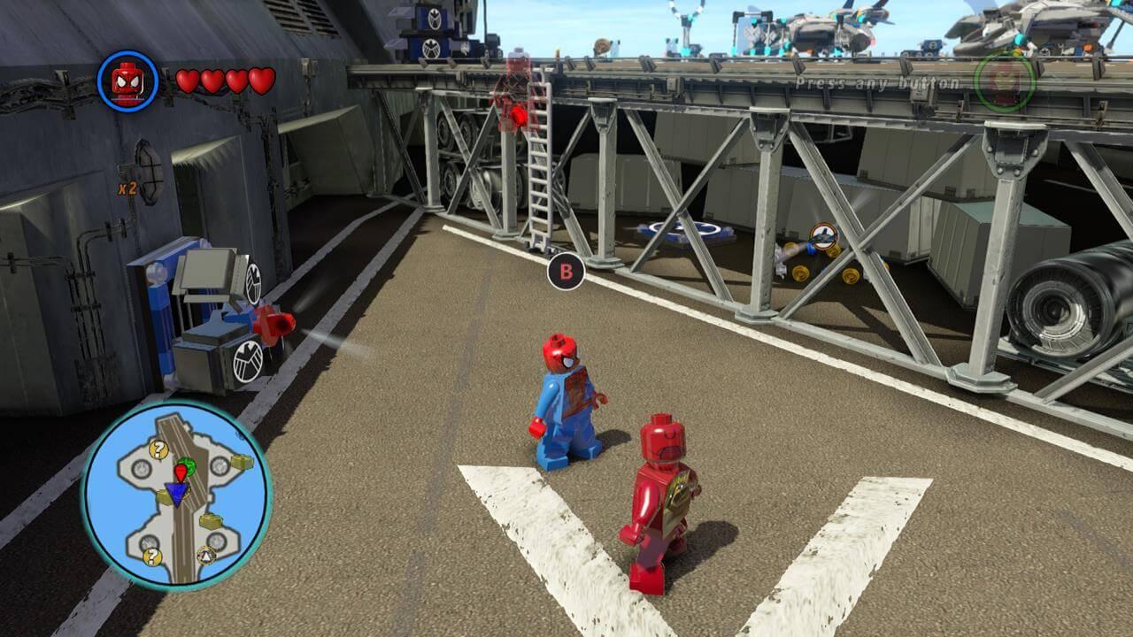 LEGO Marvel Super Heroes (Xbox 360) Walkthrough - Page 9