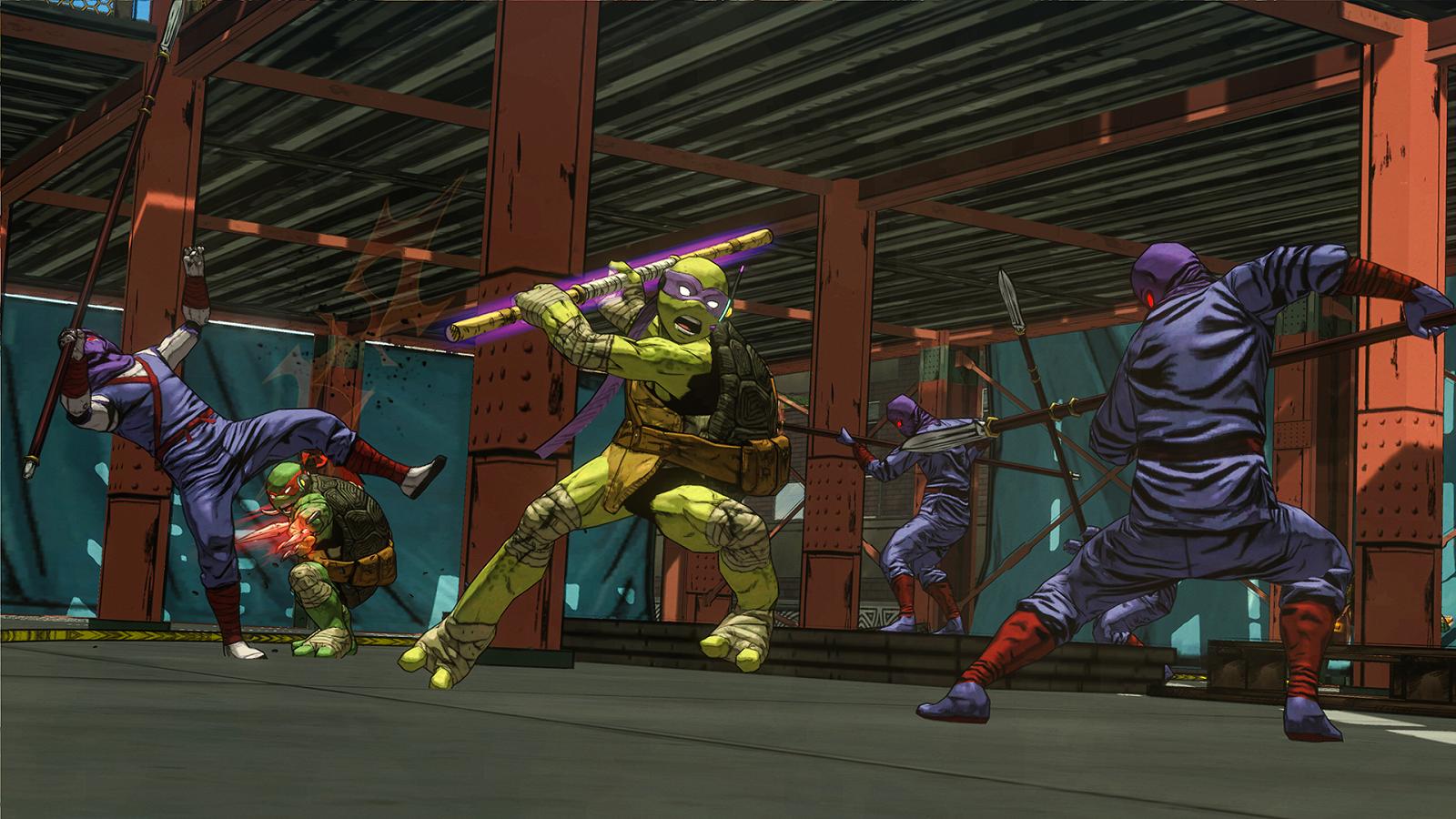 New Teenage Mutant Ninja Turtles Game Announced