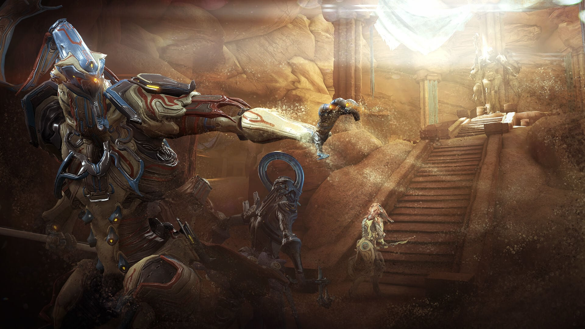 warframe how to get weapons from clan