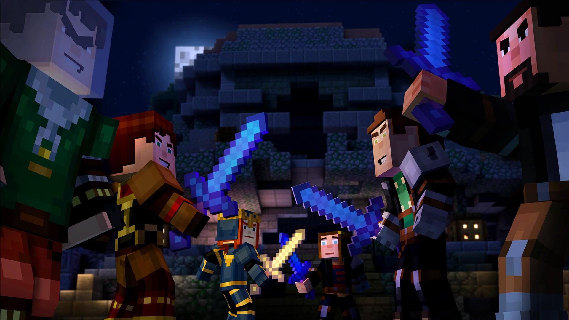Скачать minecraft story mod все эпизоды