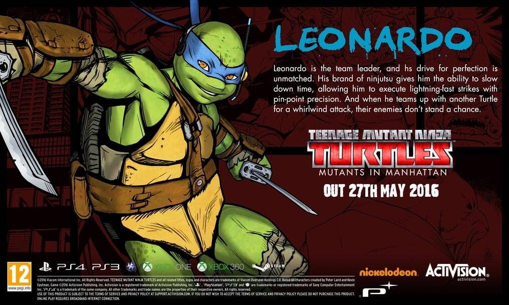 Meet The Teenage Mutant Ninja Turtles