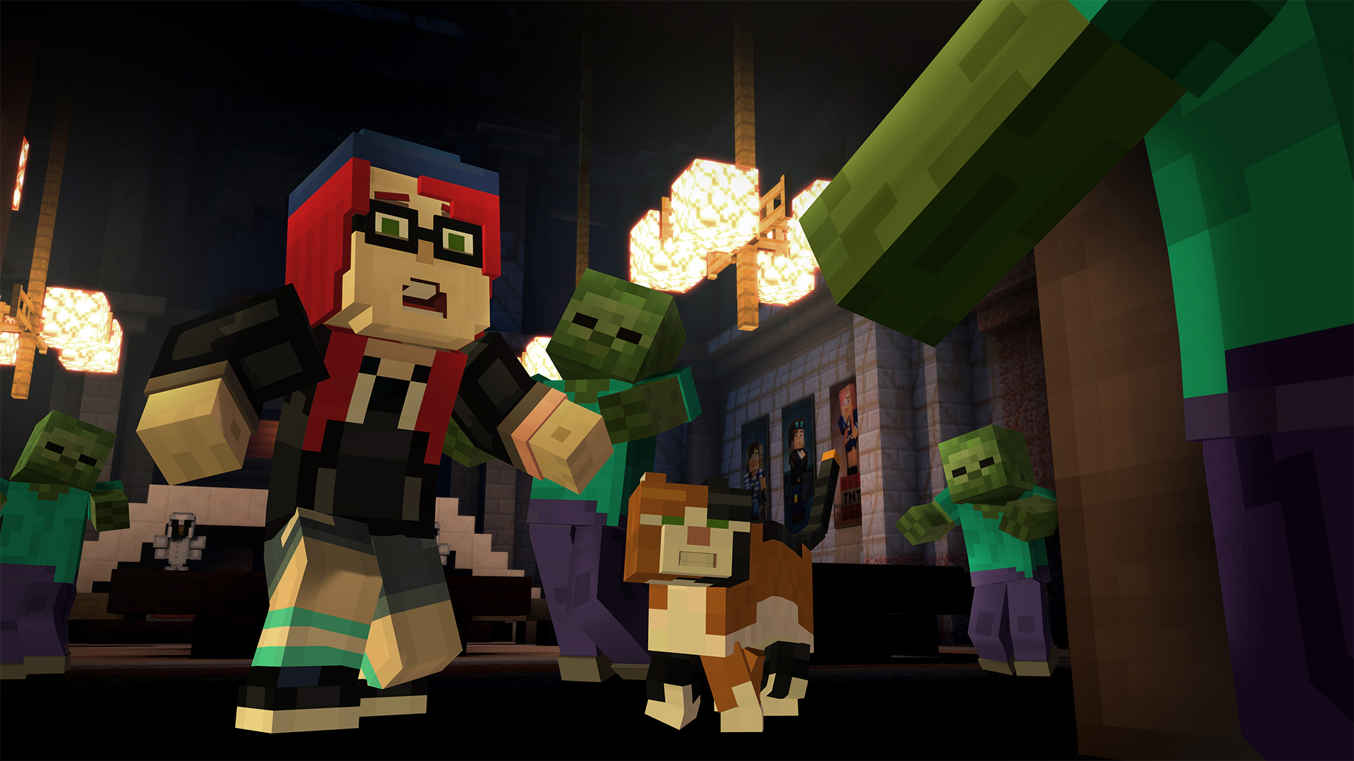 Minecraft Story Mode Episode 6 Guest Stars Community Characters