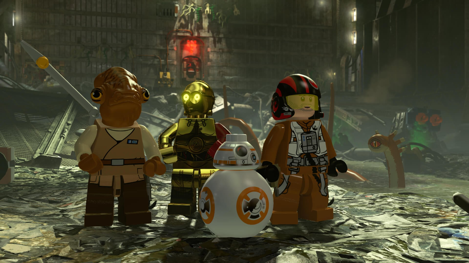 Get Ready To Unleash The Force With Lego Star Wars The Force Awakens Screens