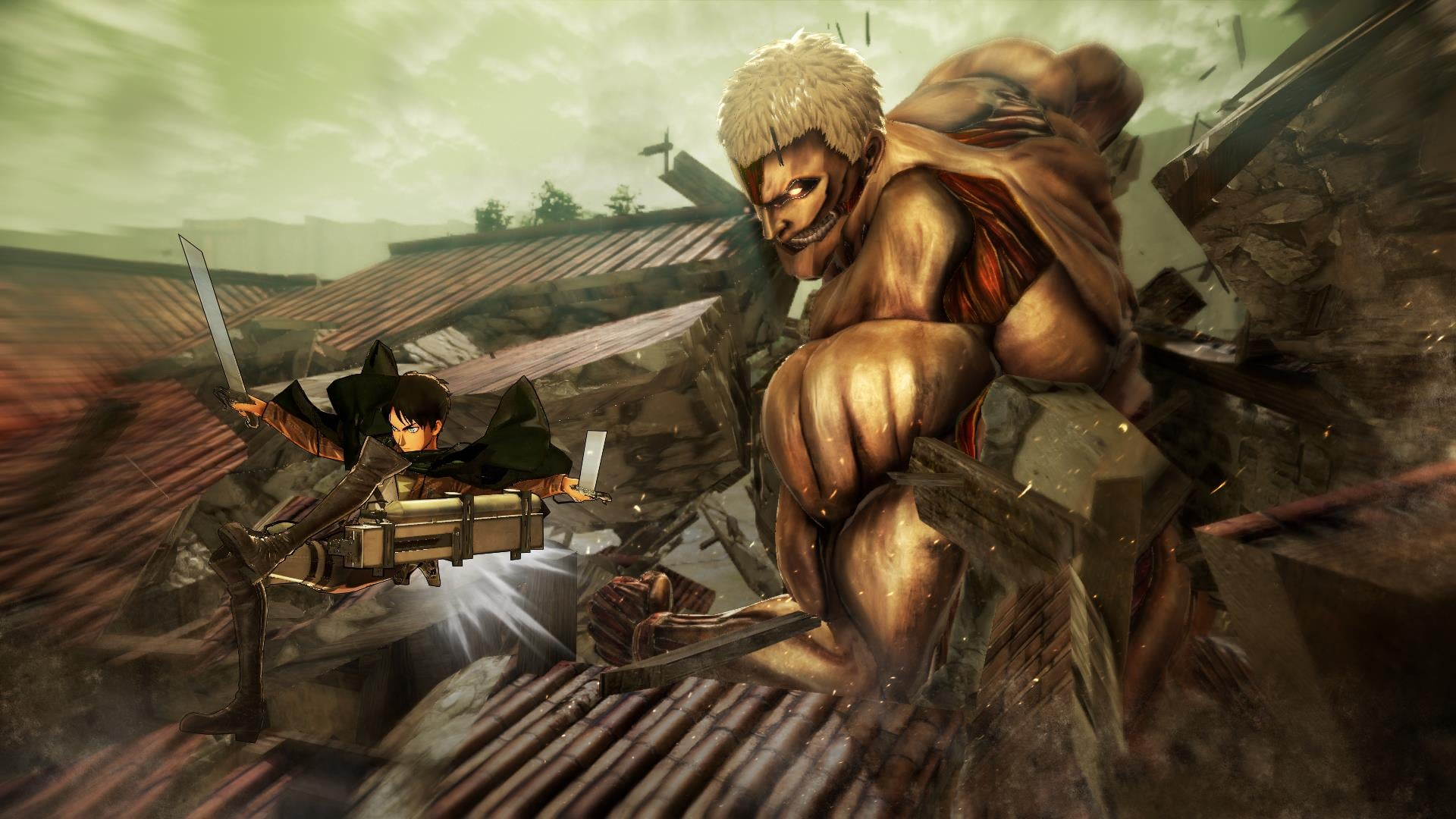 More Details Announced for Attack on Titan: Wings of Freedom