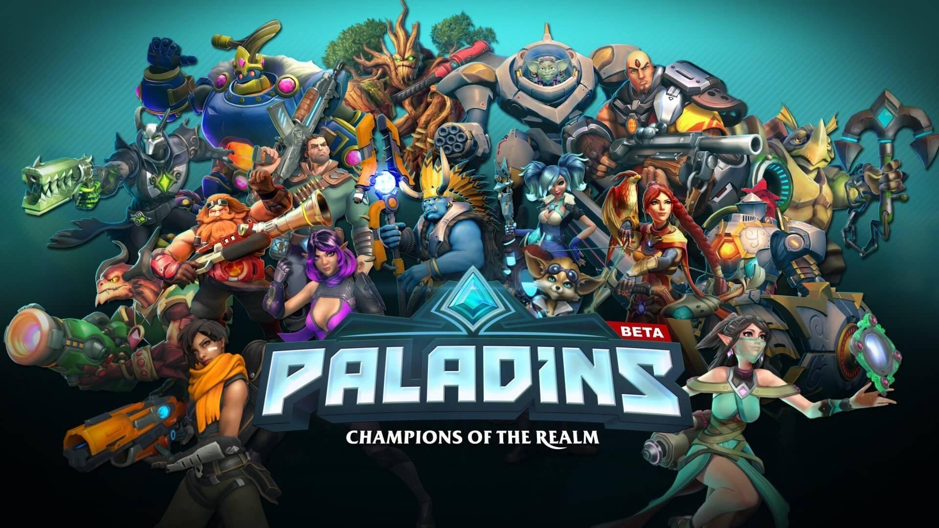 Kết quả hình ảnh cho Paladins: Champions of the Realm