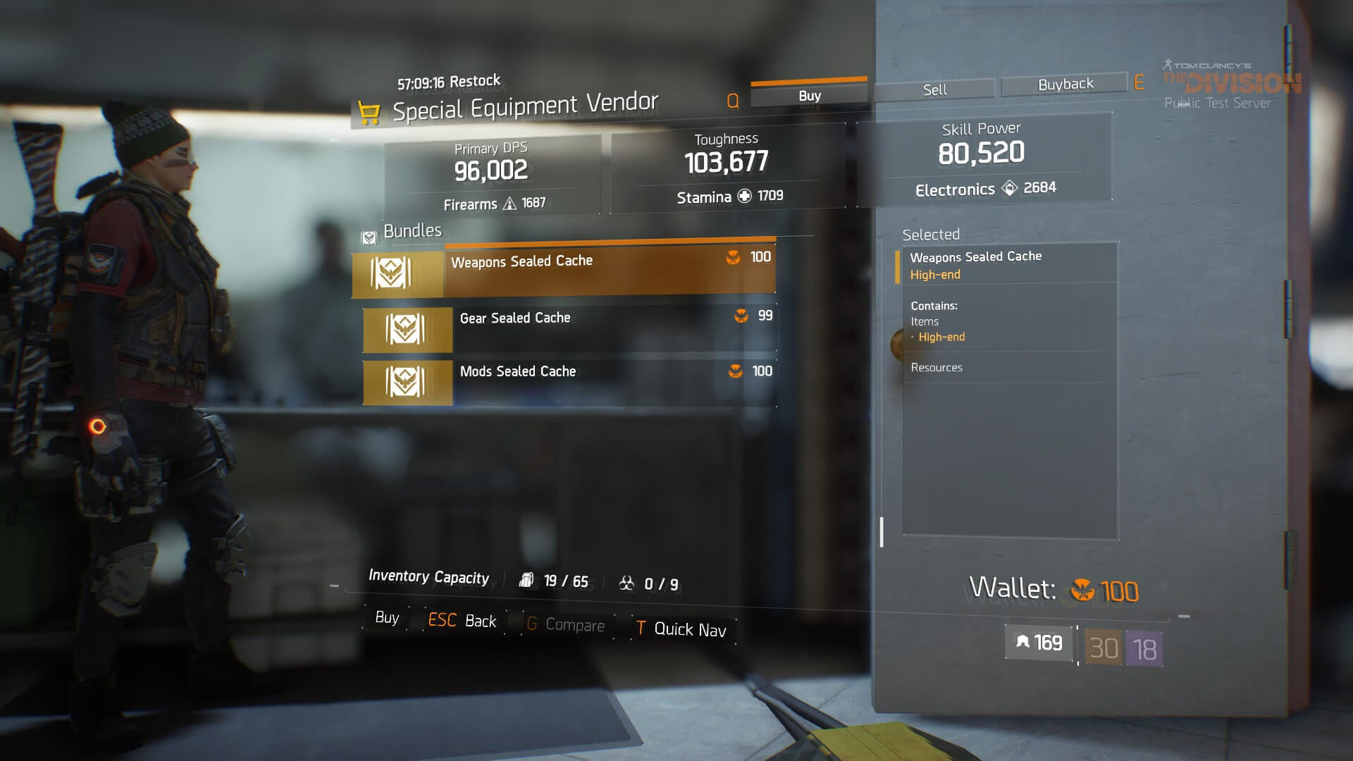 The hunt for loot improves in the divisions update 14 the division update 14 loot screens 3 malvernweather Choice Image