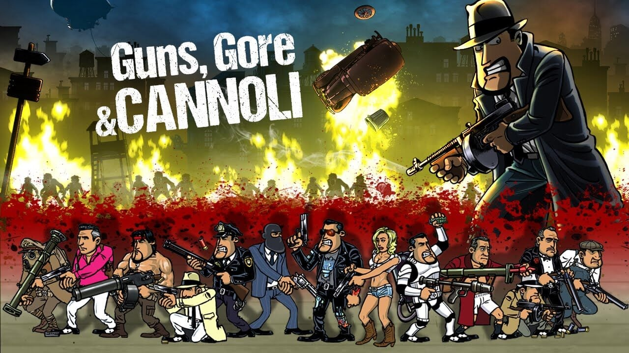 Image result for Guns, Gore and Cannoli 2