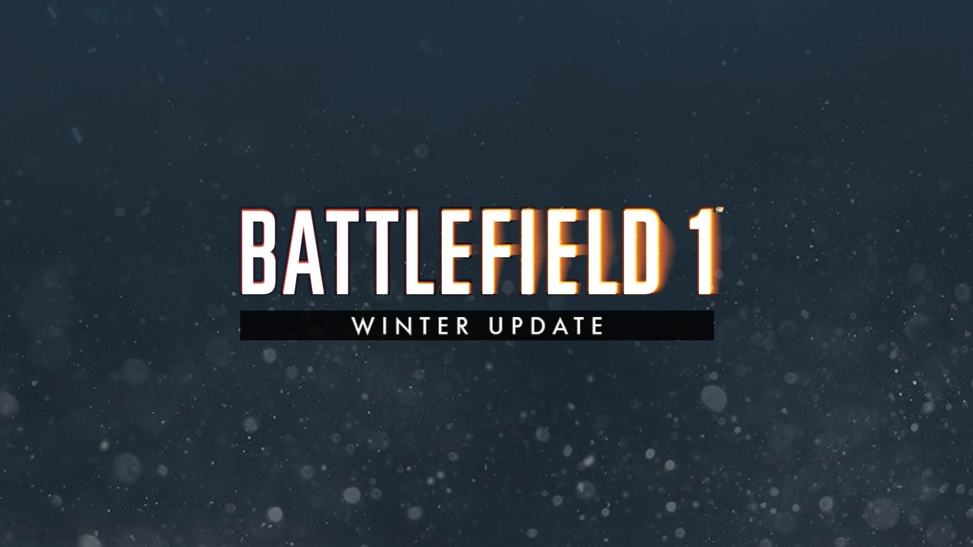 battlefield 1 winter update details and stream