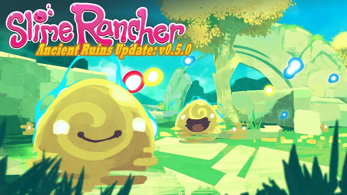 Slime Rancher Version 0 5 0 Introduces The Ancient Ruin