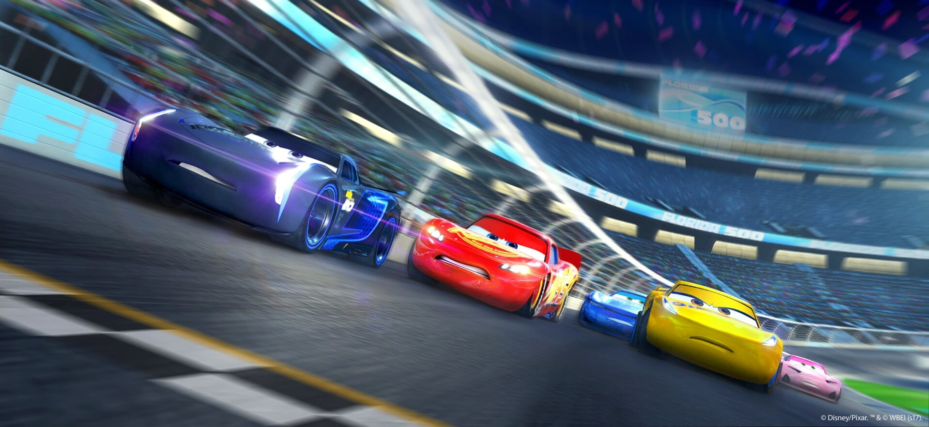Race Track Wall Art >> Cars 3: Driven to Win Announced