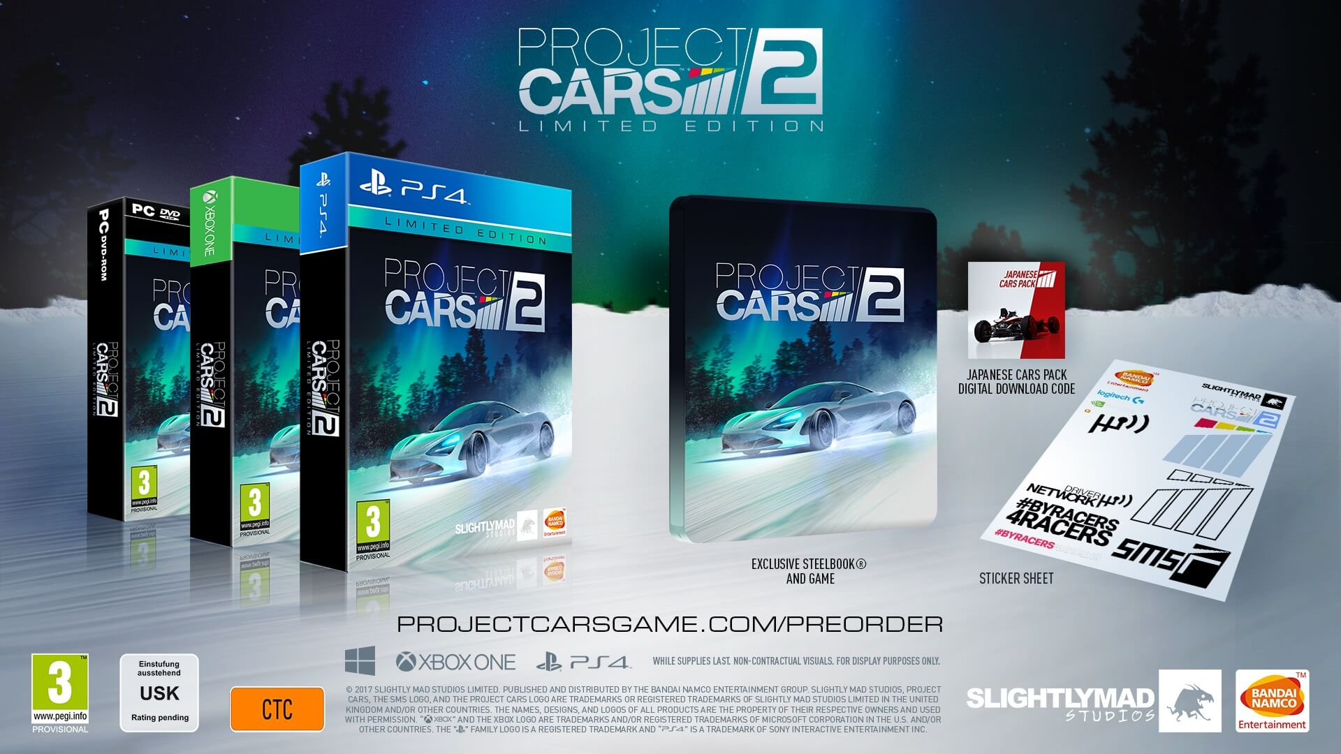 Project Cars 2 Has Four Editions Exclusive And New Trailer