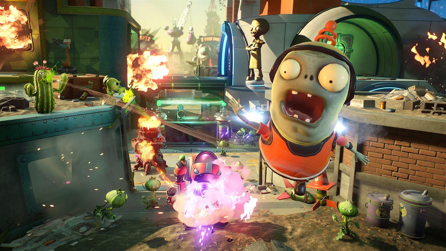plants vs zombies garden warfare 2 free play days event