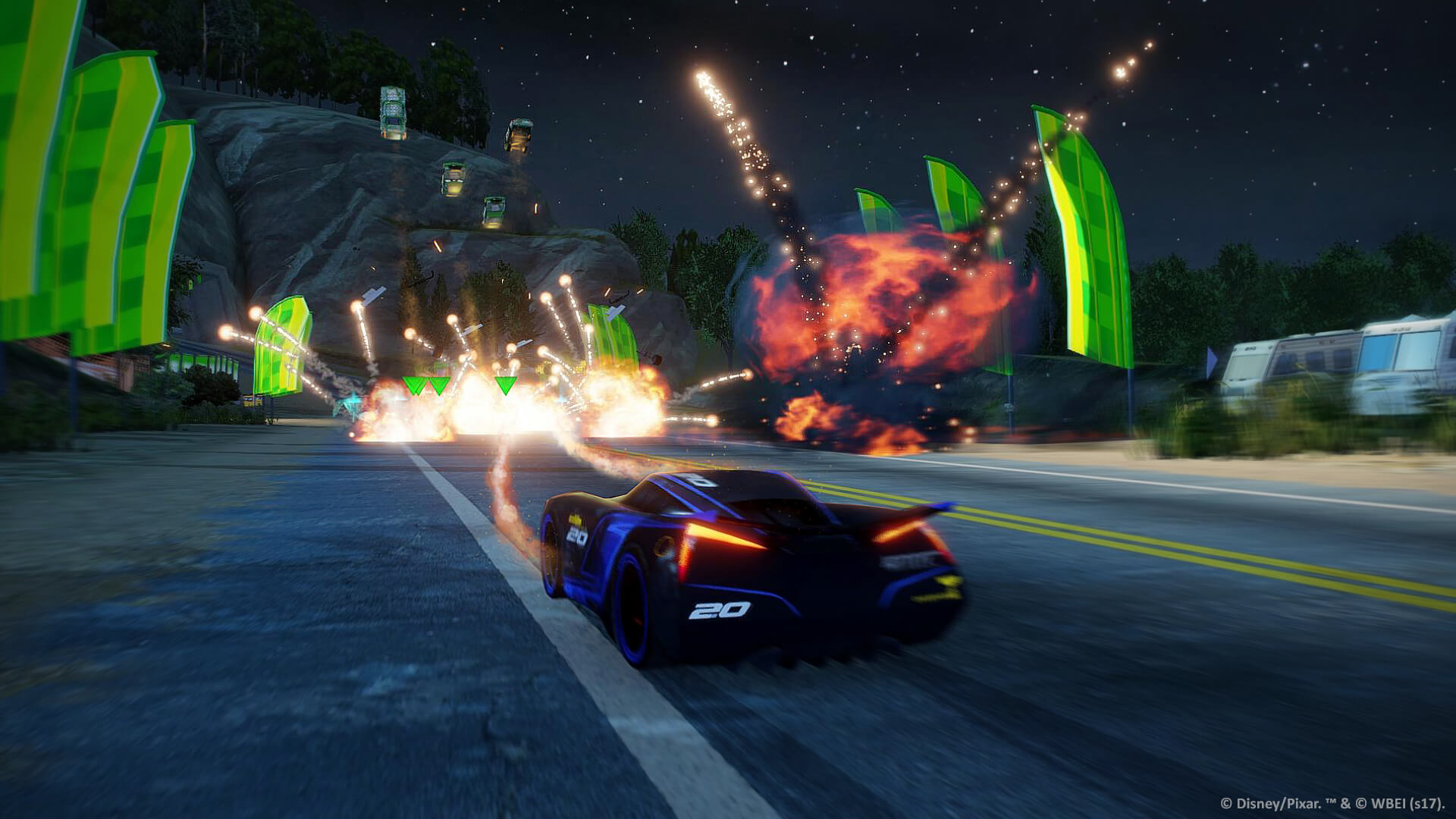 New Gameplay Trailer for Cars 3 Driven to Win Details Game Modes